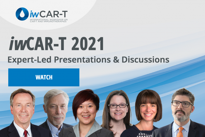 Watch expert-led presentations & discussions from iwCAR-T 2021