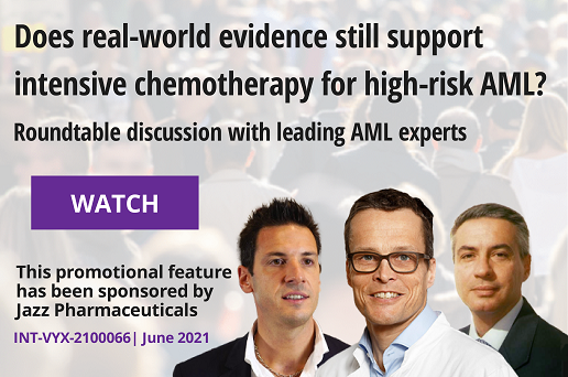 Does real-world evidence still support intensive chemotherapy for high-risk AML?
